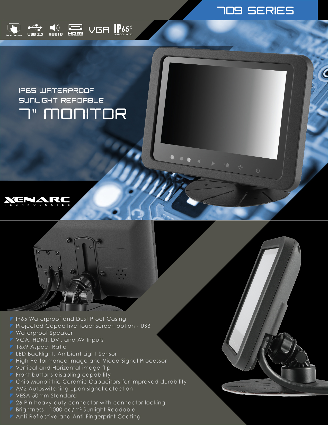 "The Best Small Monitor and Small Touchscreen Solutions For Small Projects And Small Spaces Rugged Small LCD Touchscreen Monitor Solutions for All Industries - 7"", 8"", 9"", 10"",12"",15"",18"" https://www.xenarc.com  Xenarc Technologies manufactures the best 7"",8"",9"",10"",12"",15"",18"",24"" Touchscreen Solutions for all industries and are tested and certified according to our customers requirements and according to their industry specifications.  Xenarc's are built to work anywhere and build to last. MTBF(Mean Time Between Failures) of a Xenarc is 55,000 hour of continuous operation or 6.2 years.    touchscreen, touchscreen monitor, small touchscreen, small monitor, 10"" touchscreen, 7"" touchscreen,10"" monitor, 7"" monitor, LCD Monitor, touch screen, touch screen monitor, touchscreen manufacturer, monitor manufacturer, touchscreen solutions manufacurer https://www.xenarc.com"