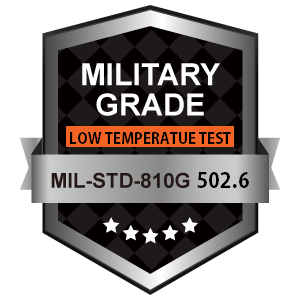 "Military Grade MIL-STD-810G 502-6 - Low Temperature Test  www.xenarc.com - 3rd Party Testing & Industry Certification of Rugged Enterprise-Ready 7"" to 18"" Touchscreen Display Solutions"