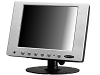 "8"" Touchscreen LCD LED Monitor w/ VGA & AV Inputs"